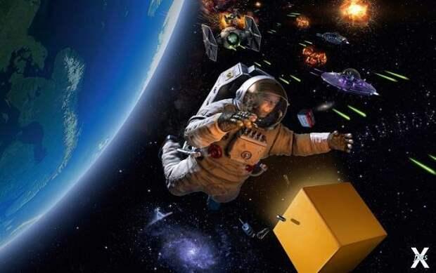 Возможно ли, что космонавты встречали...
