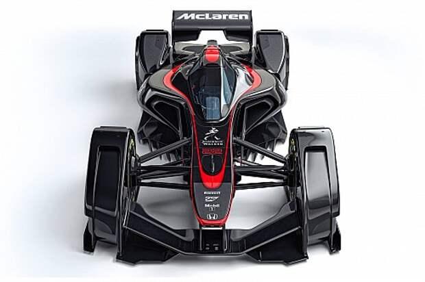 McLaren MP4-X concept: рули мозгом, а не руками! (ВИДЕО)