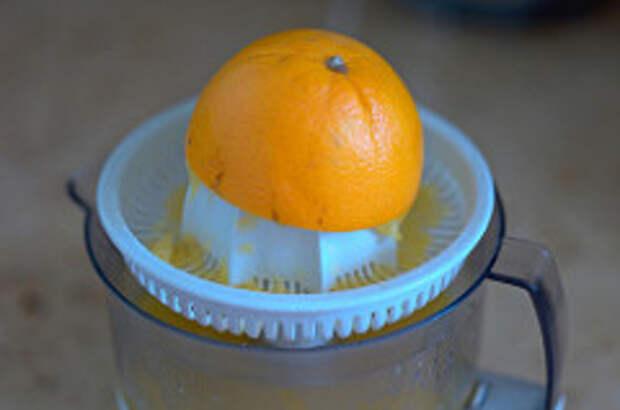 Лосось с апельсиновым джемом