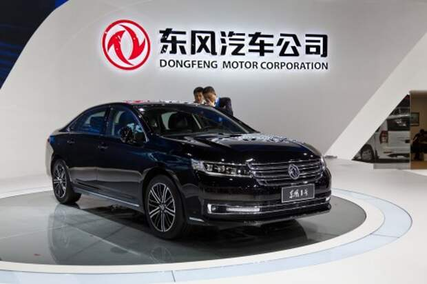 Dongfeng представил в Китае модели для России