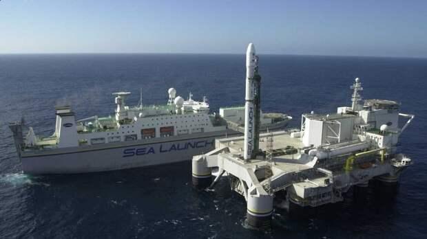 Российский плавучий космодром вернется из США на родину
