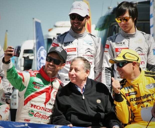 Этап WTCC на Moscow Raceway посетил президент Международной автомобильной федерации Жан Тодт.