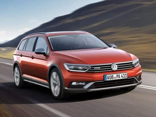 В Швейцарию заглянет новый вседорожный VW Passat Alltrack