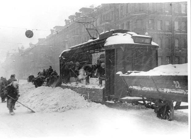 Фотографии блокады Ленинграда.