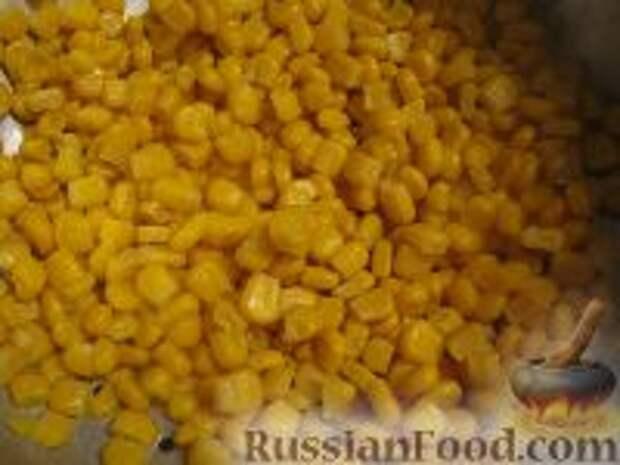 Фото приготовления рецепта: Капустный салат с чесноком - шаг №7
