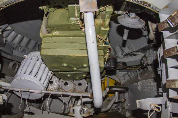 Что находится внутри советского тяжелого танка ИС-3?