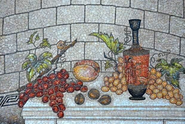 Каменная мозаика севастопольской художницы