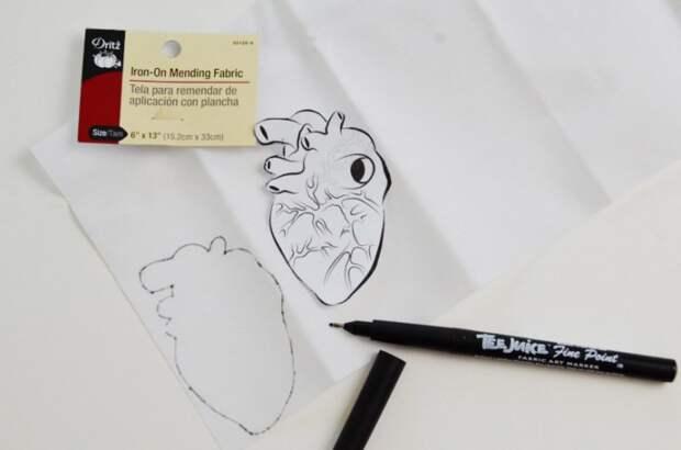Анатомическая брошка (Diy)