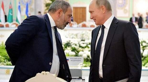 В Турции назвали главную ошибку господина Пашиняна и рассказали, почему Путин ее не простил