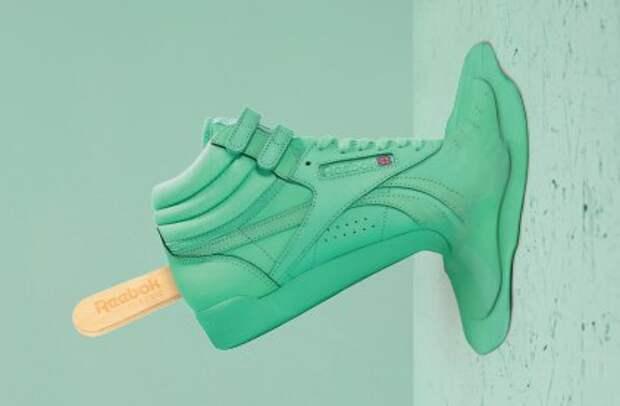 Кроссовко-мороженое от Reebok