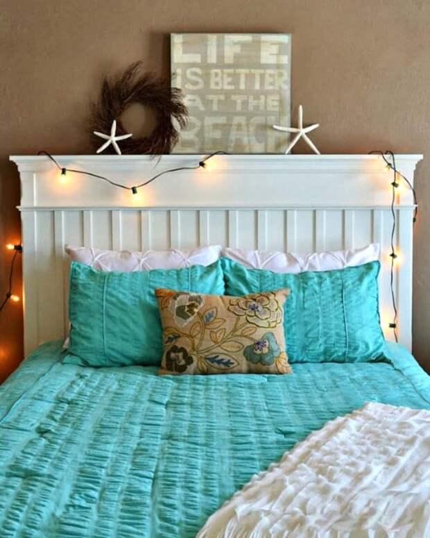 Стена за кроватью: 25 интересных идей для декора