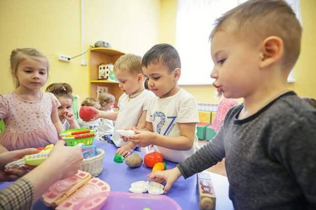 Забралова оценила работу нового детского сада «Мозаика» в Балашихе