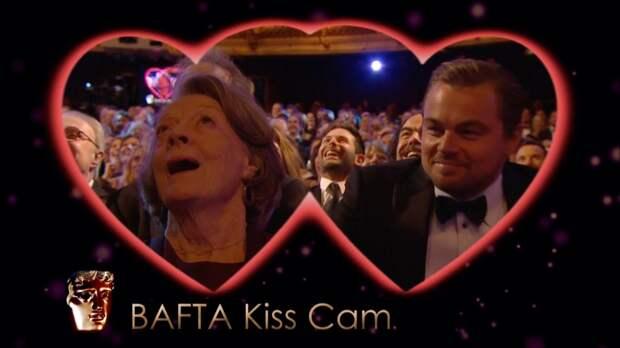 Камера для поцелуев на премии BAFTA