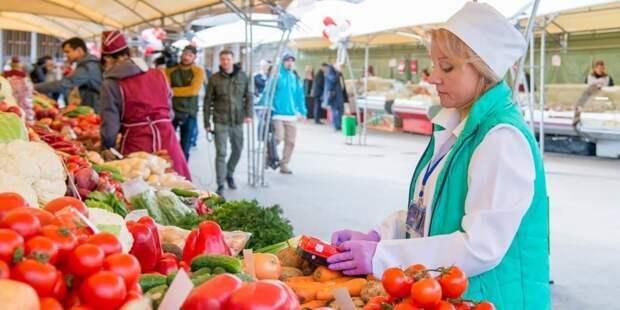 Собянин предложил выбрать имя для московских ярмарок и рынков. Фото: Ю. Иванко mos.ru
