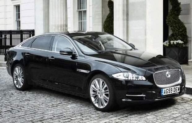6. Jaguar XJ Sentinel лимузин, правительственный автомобиль