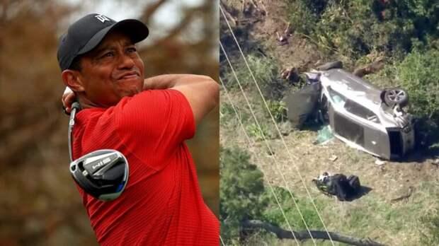 Тайгер Вудс госпитализирован с множественными травмами ноги после аварии в Лос-Анджелесе