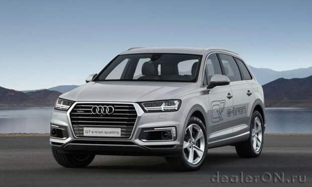 Audi предназначает Q7 и A6L плагин гибриды для китайских покупателей