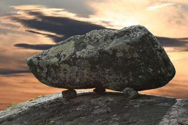 Священные камни на территории бывшего СССР