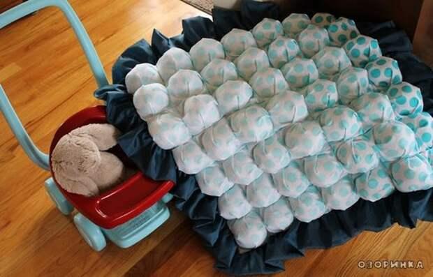 возможный вариант обьемного одеяла