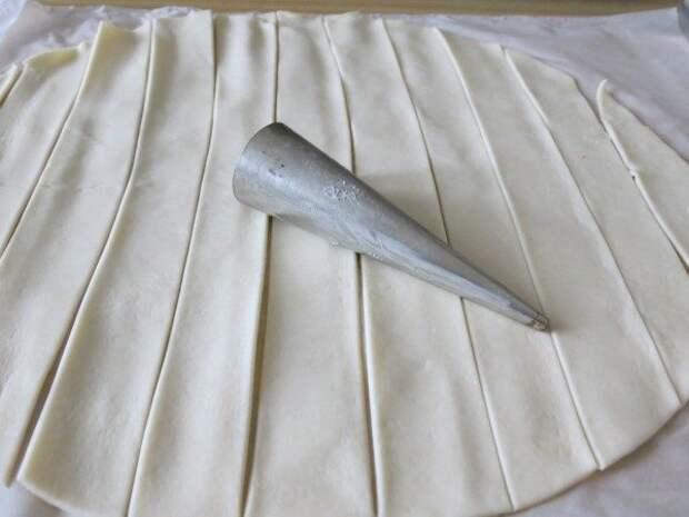 Трубочки с кремом «Шантильи»