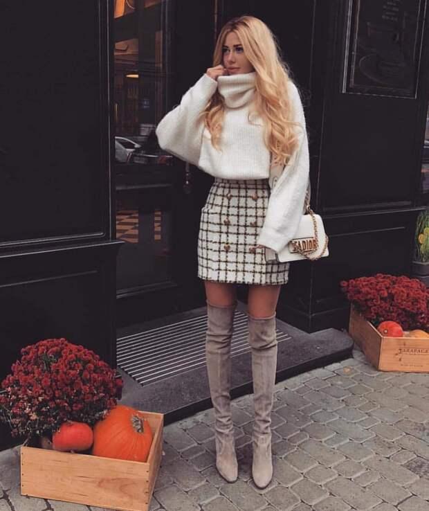 Топ-13 зимних юбок для тех, кто не боится быть в тренде