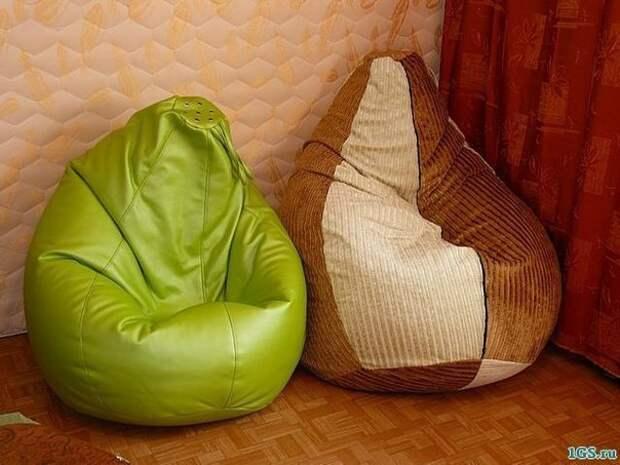 Выкройка кресла-мешка (Diy)