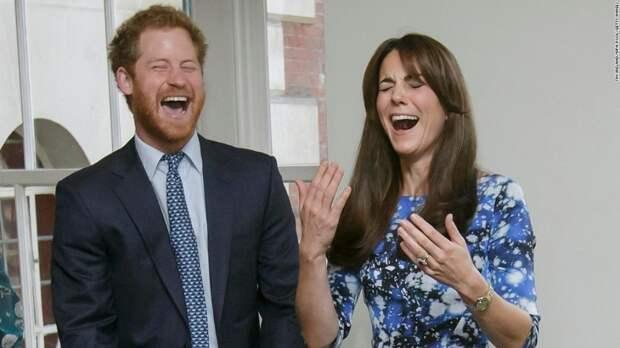 Принц Гарри и Кэтрин, герцогиня Кембриджская