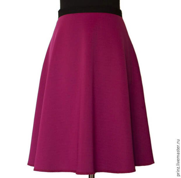Выкройка модной юбки за 10 минут