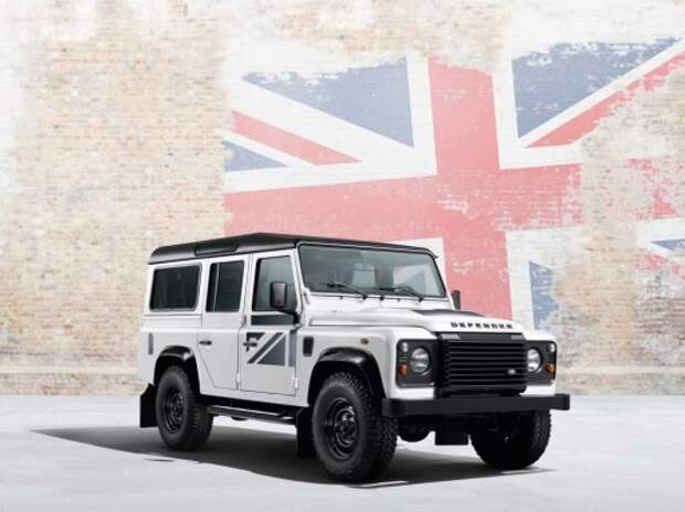 Land Rover представил спецсерии вседорожников Defender и Discovery