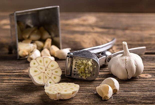 Ошибки приготовления чеснока