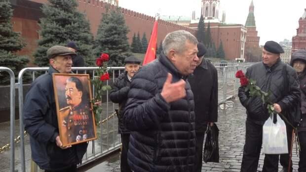 Виктор Анпилов и протесты 90-ых