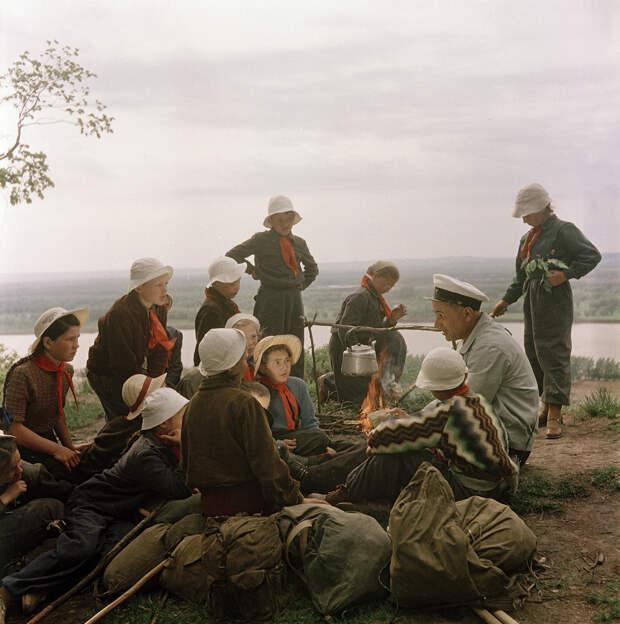 18. Поход с вожатым по местам боевой славы. исторические фотографии, история, фото