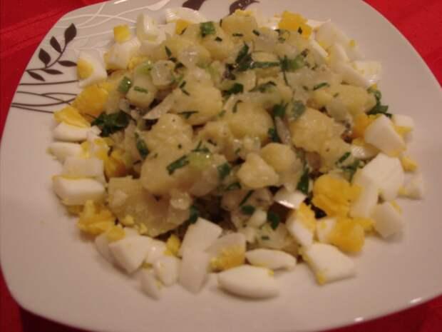 Французский картофельный салат Жака Пепена