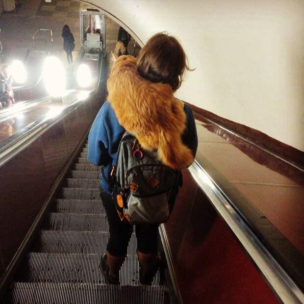 Самые яркие модники московского метро