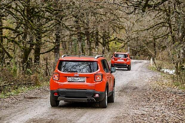Улыбаемся до ушей ценникам на Jeep Renegade