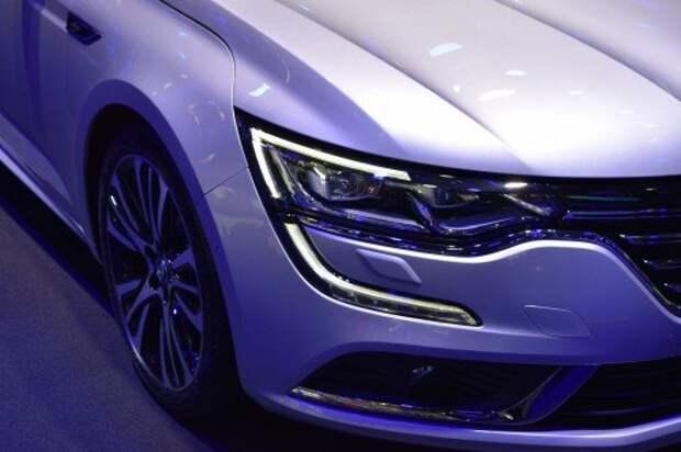 Renault Talisman заедет в автопарк президента Франции