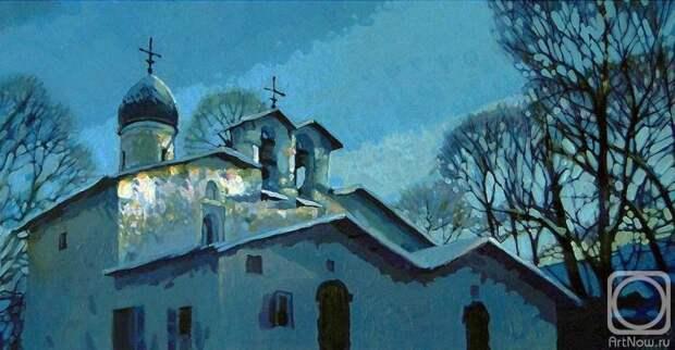 Андрианов Андрей. Зимний вечер