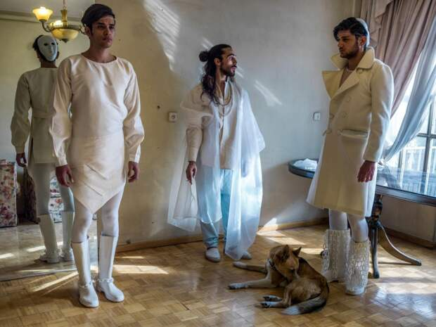 Показы мод в Иране