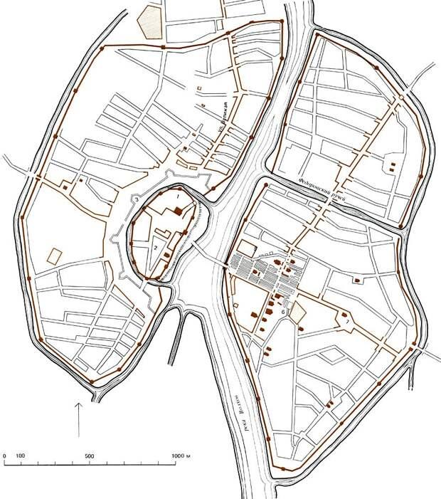 Общая характеристика градостроительства Киевской Руси и периода феодальной раздробленности страны