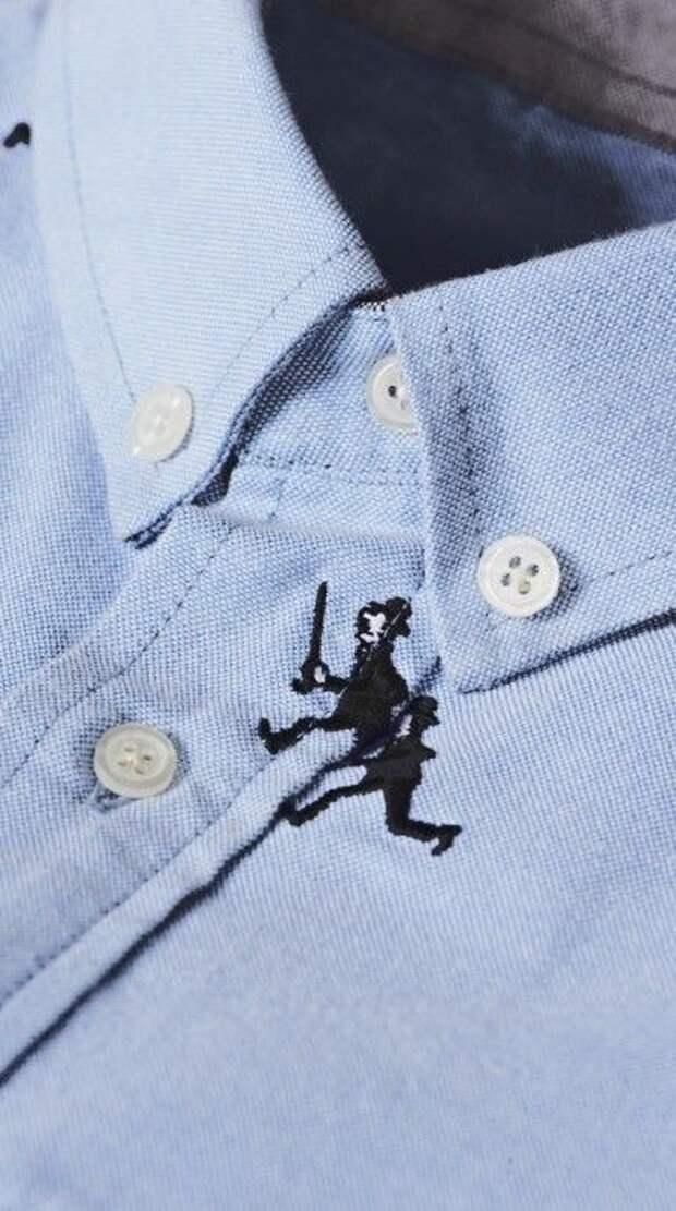 Примеры дерзкой вышивки на мужских рубашках