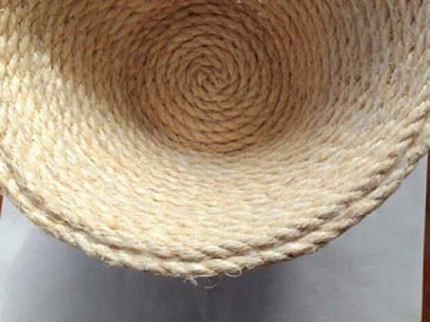 Корзинка с крышкой своими руками из сизалевой веревки (21) (320x240, 95Kb)