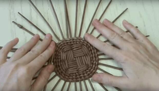 Красивая «дышащая» хлебница своими руками. Эффектный и недорогой материал