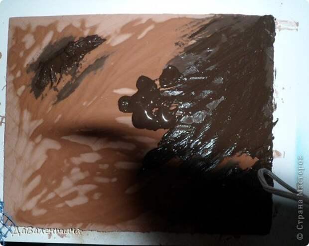 Картина панно рисунок Мастер-класс Коллаж Коллаж в технике терра Мастер-класс Морское дно с креветками Материал природный фото 8