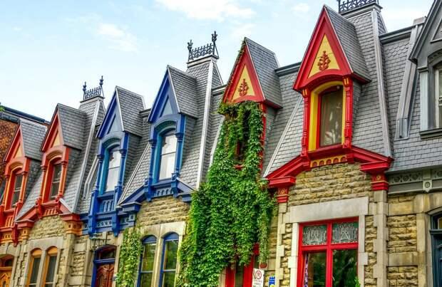 Викторианская архитектура в Монреале.