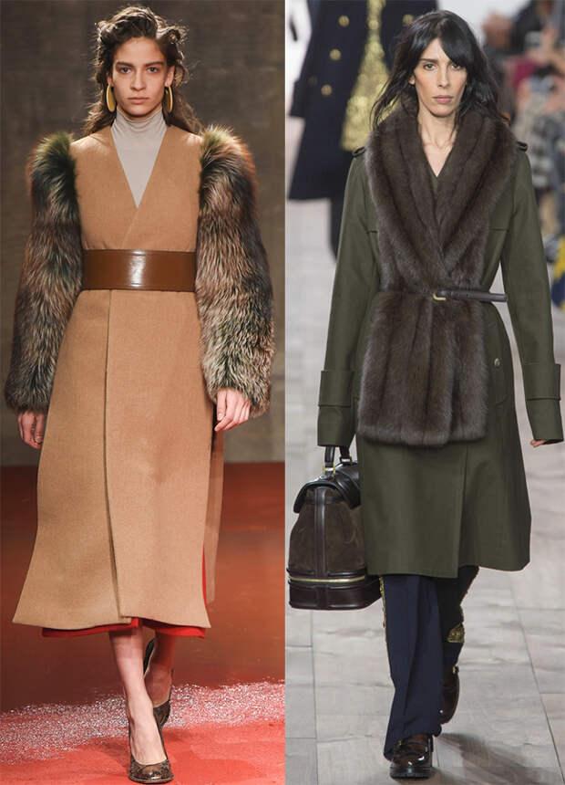 Пальто Marni и Michael Kors