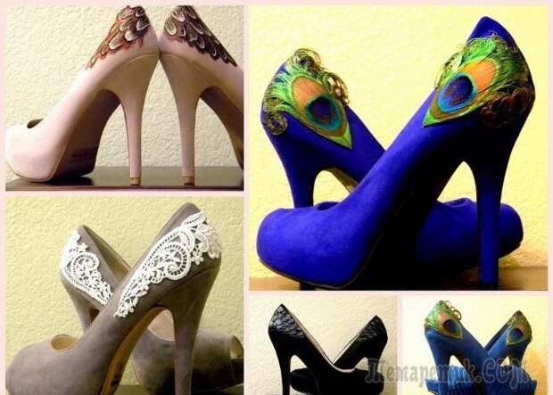 10 причин не выбрасывать старую обувь: оригинальные перевоплощения