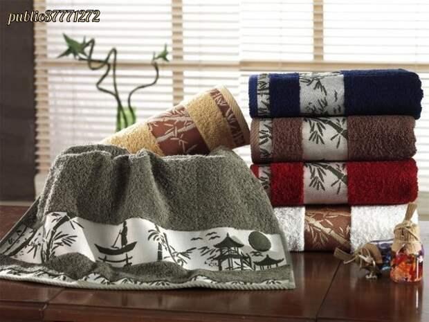 Правила ухода за махровыми полотенцами