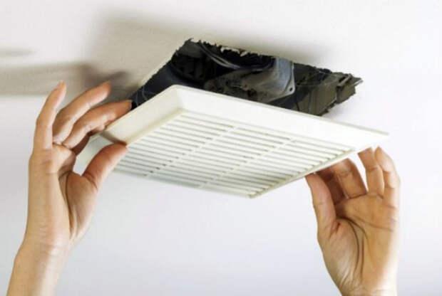 Чистка вентиляционных решеток.