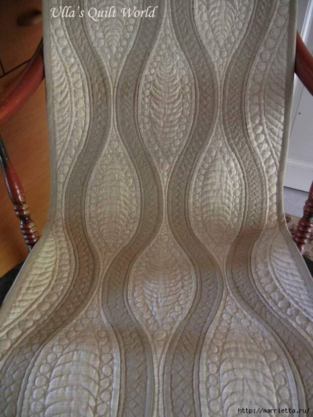 Стеганая накидка для кресла в технике пэчворк (3) (525x700, 288Kb)