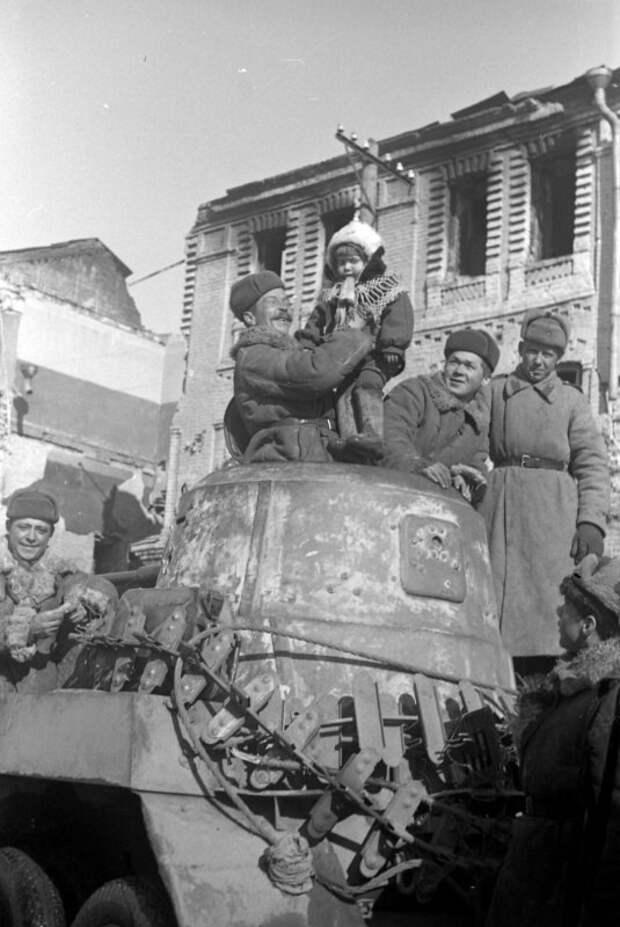 Фронтовая жизнь советских войск
